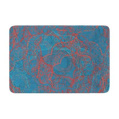 Patternmuse Mandala Memory Foam Bath Rug