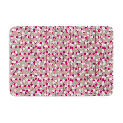 Julie Hamilton Wineberry Memory Foam Bath Rug