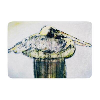 Josh Serafin Oldtimer Bird Memory Foam Bath Rug