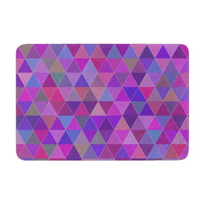 Louise Abstract Memory Foam Bath Rug