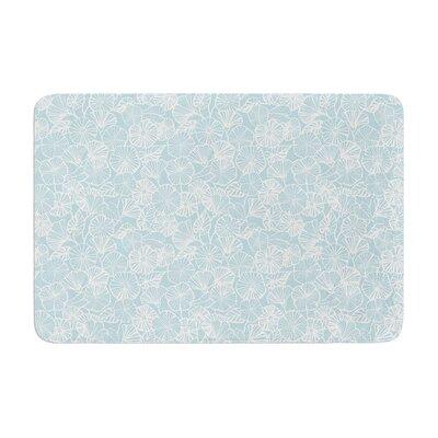 Jacqueline Milton Vine Shadow Floral Memory Foam Bath Rug