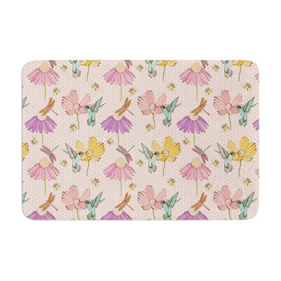 Laura Escalante Magic Garden Memory Foam Bath Rug