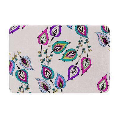 Louise Leave Memory Foam Bath Rug