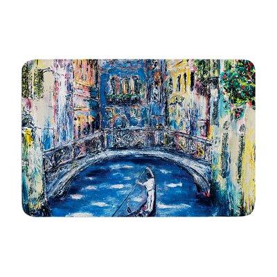 Josh Serafin Venice Travel Italy Memory Foam Bath Rug