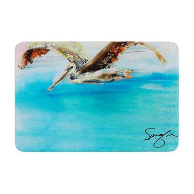 Josh Serafin Coast Ocean Bird Memory Foam Bath Rug