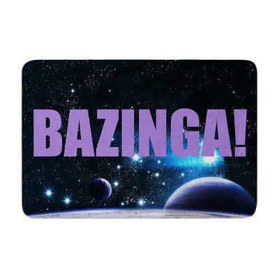 Bazinga Space Memory Foam Bath Rug
