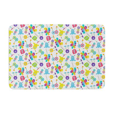 Laura Escalante Fun Creatures Memory Foam Bath Rug