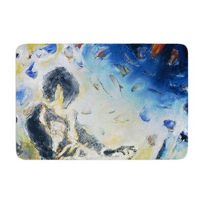 Josh Serafin Riders on the Storm Piano Player Memory Foam Bath Rug