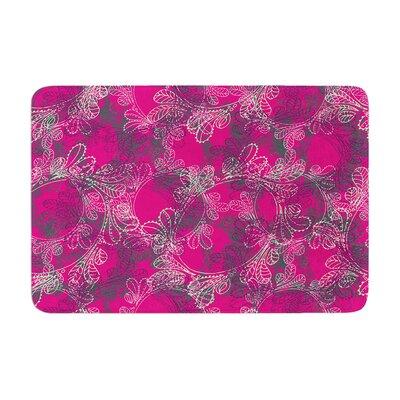 Patternmuse Jaipur Berry Memory Foam Bath Rug