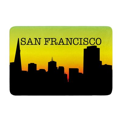 San Francisco Memory Foam Bath Rug