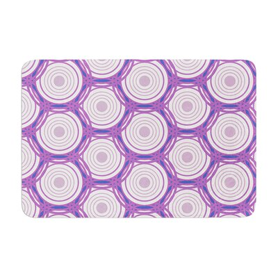 Louise Labyrinth Memory Foam Bath Rug