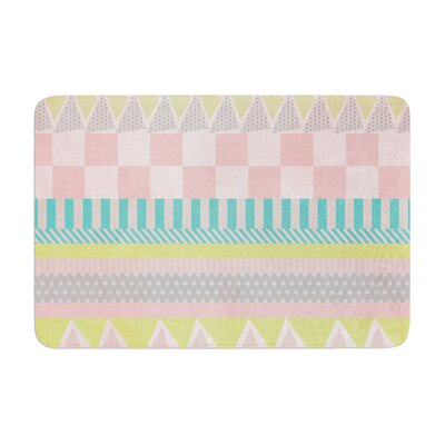 Louise Machado Luna Pattern Memory Foam Bath Rug