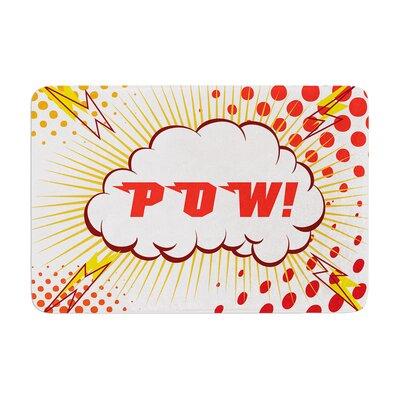 POW! Cartoon Memory Foam Bath Rug