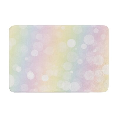 Prism Bokeh Memory Foam Bath Rug