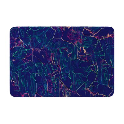 Kathryn Pledger Night Life Memory Foam Bath Rug