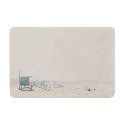 Laura Evans Summer Haze Coastal Memory Foam Bath Rug