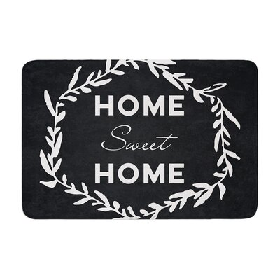 Home Sweet Home Memory Foam Bath Rug