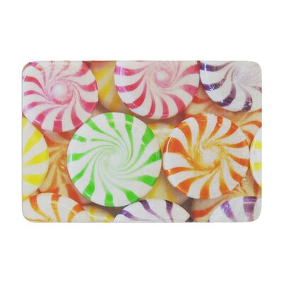 Libertad Leal I Want Candy Memory Foam Bath Rug