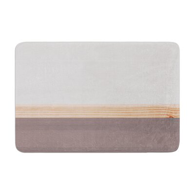 Spring Swatch Wood Memory Foam Bath Rug
