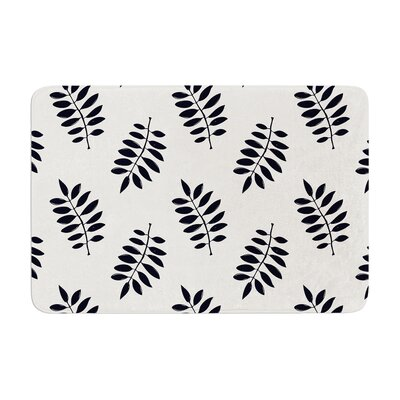 Laurie Baars Pagoda Leaf Small Memory Foam Bath Rug