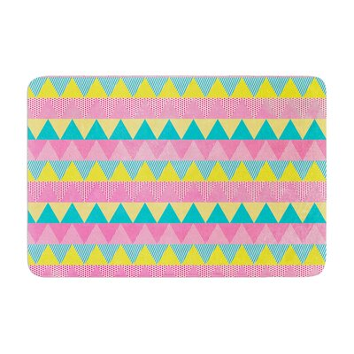 Louise Machado Triangles Memory Foam Bath Rug