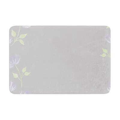 Louise Flower II Memory Foam Bath Rug