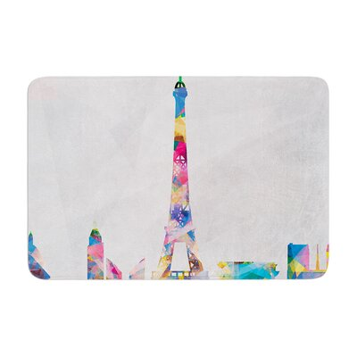 Mareike Boehmer Paris City Memory Foam Bath Rug