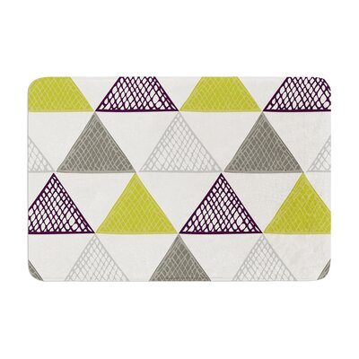 Laurie Baars Textured Triangles Memory Foam