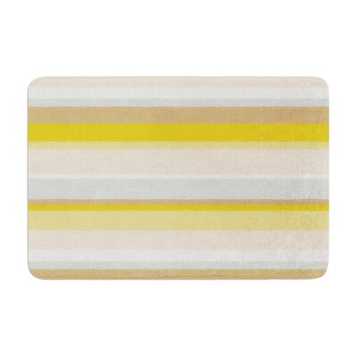 Nika Martinez Desert Stripes Memory Foam Bath Rug