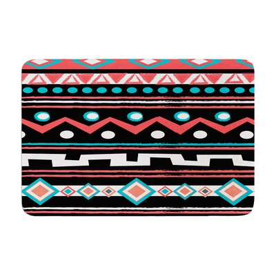 Nika Martinez Tipi Tribal Memory Foam Bath Rug