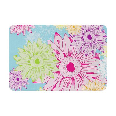 Laura Escalante Summer Time Memory Foam Bath Rug