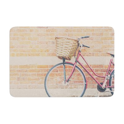 Laura Evans a Bicycle Memory Foam Bath Rug