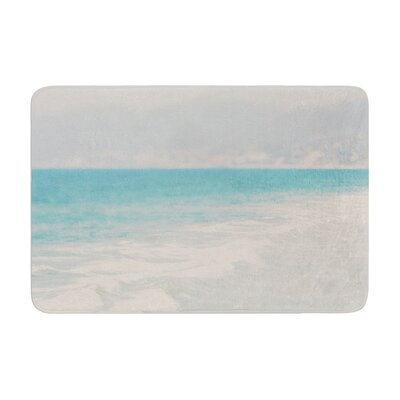 Laura Evans Waves Memory Foam Bath Rug