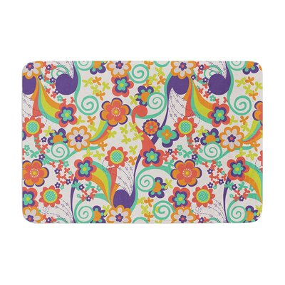 Louise Machado Printemps Memory Foam Bath Rug
