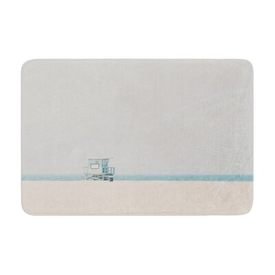 Laura Evans Tower 17 Coastal Memory Foam Bath Rug