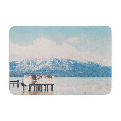Laura Evans Down by the Lake Memory Foam Bath Rug