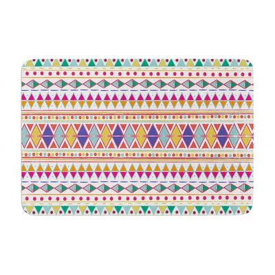 Nika Martinez Native Fiesta Memory Foam Bath Rug