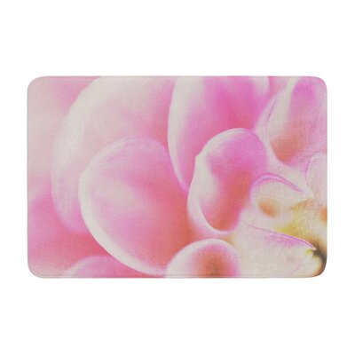 Laura Evans Up Close and Personal Floral Memory Foam Bath Rug