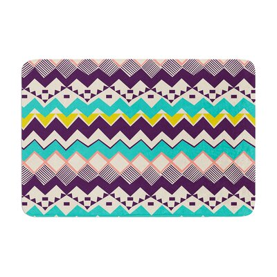 Louise Machado Ethnic Color Memory Foam Bath Rug