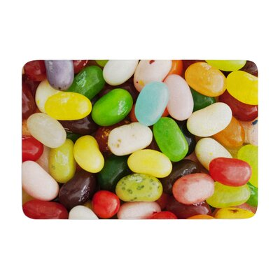 Libertad Leal I Want Jelly Beans Memory Foam Bath Rug