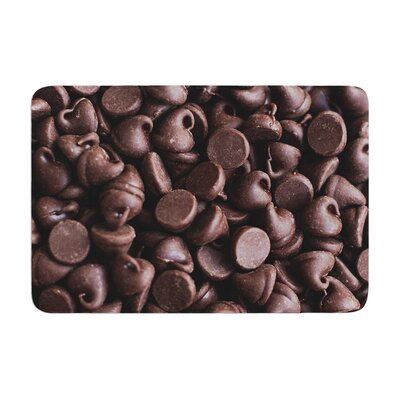 Libertad Leal Yay! Chocolate Candy Memory Foam Bath Rug