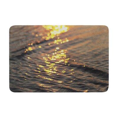 Libertad Leal Still Waters Sunset Memory Foam Bath Rug