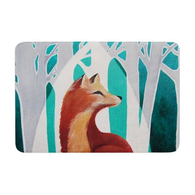 Lydia Martin Fox Forest Memory Foam Bath Rug