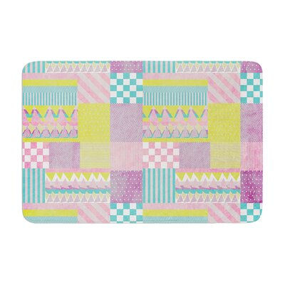 Louise Machado Patchwork Memory Foam Bath Rug