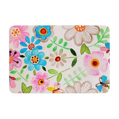 Louise Machado the Garden Memory Foam Bath Rug