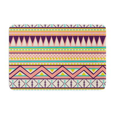Louise Machado Ethnic Love Tribal Geometric Memory Foam Bath Rug
