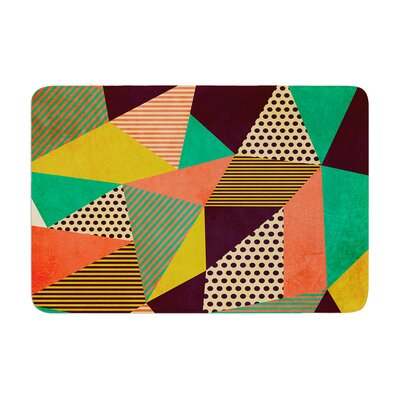 Louise Machado Geometric Love II Memory Foam Bath Rug