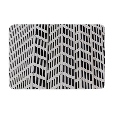 Maynard Logan the Grid Memory Foam Bath Rug