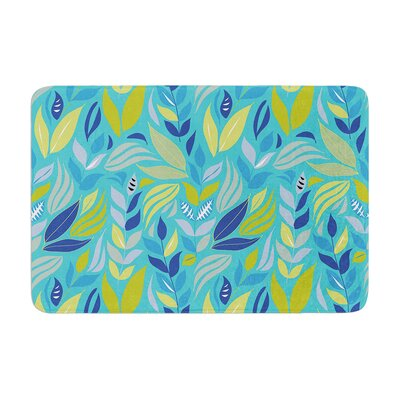 Michelle Drew Underwater Bouquet Memory Foam Bath Rug