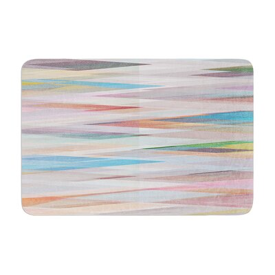 Mareike Boehmer Nordic Combination II Abstract Memory Foam Bath Rug
